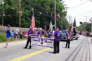 Purple Heart association, July 4th parade